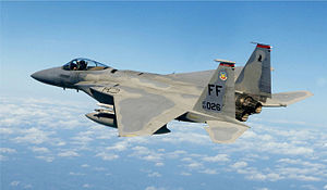 Picture of Eagle F-15 Aircraft