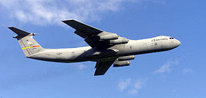 Picture of Starlifter C-141 Aircraft
