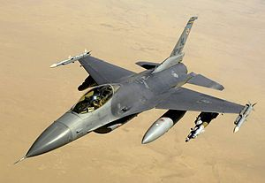 Picture of F-16 Aircraft