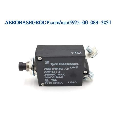 TYCO Tyco Electronics Circuit Breaker P//N W23-X1A1G-5-5 AMP