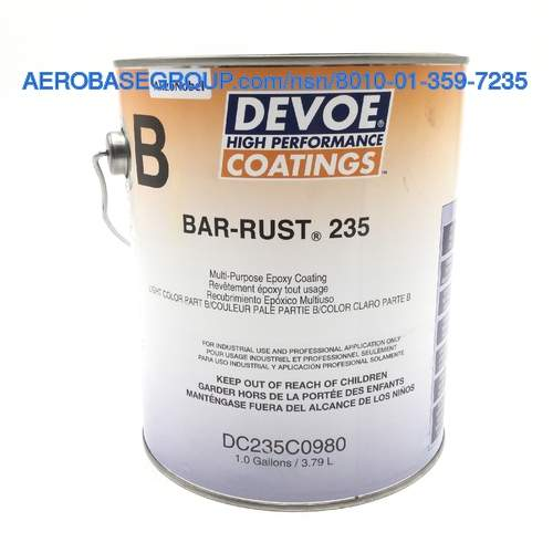 Picture of part number BAR-RUST 235