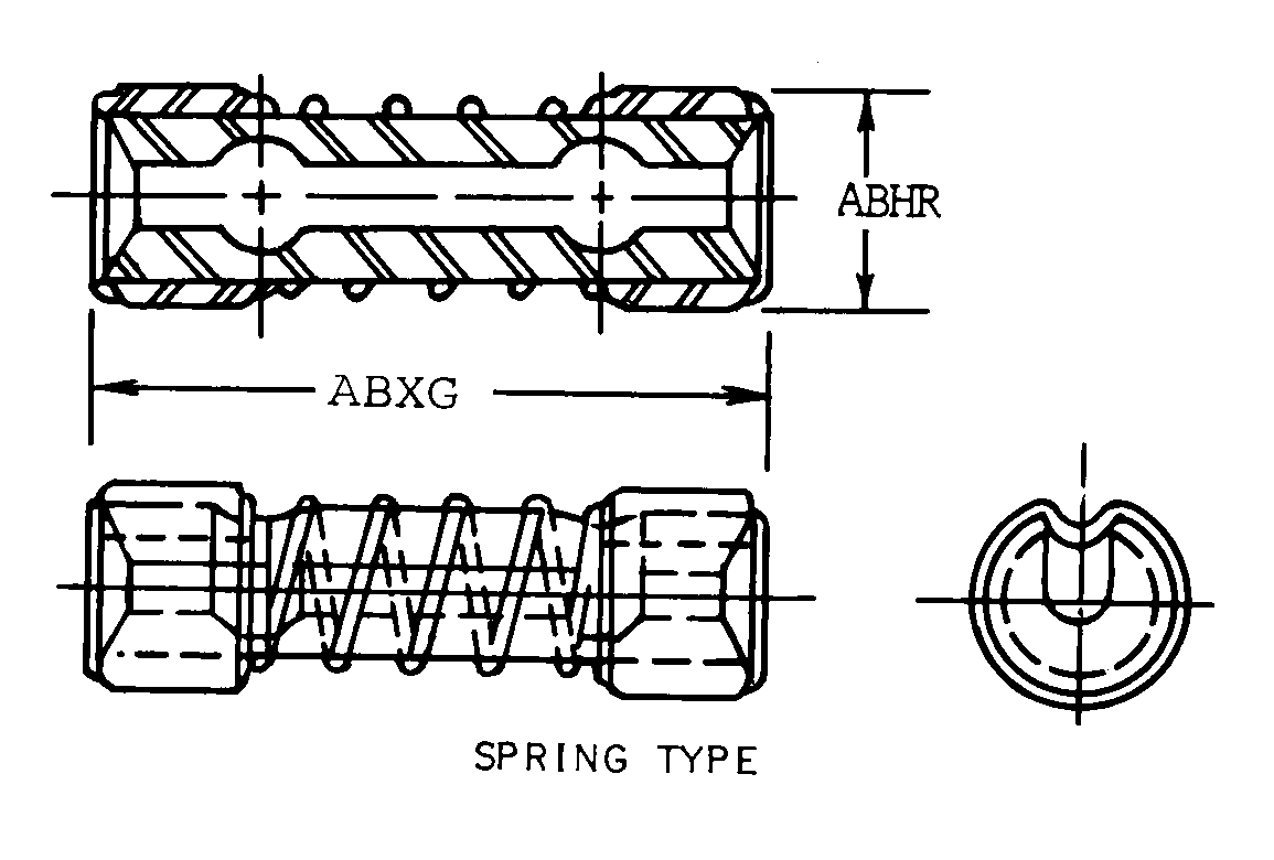 4030-00-489-1855 – Quick Disconn Wire Rope Coupling | AeroBase Group ...
